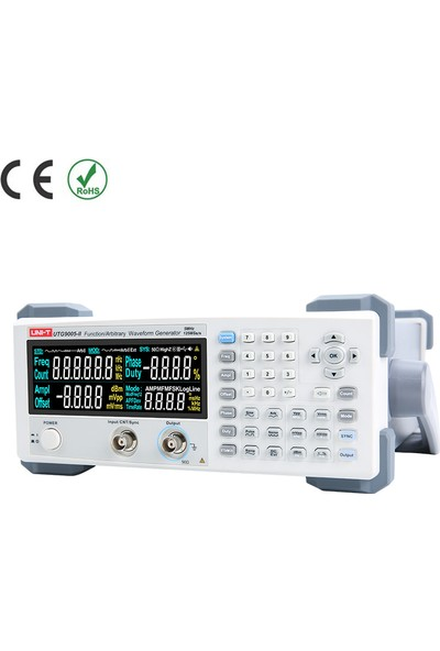 Uni-T UTG9005C-II Dijital Fonksiyon Dalga Formu Jeneratörü