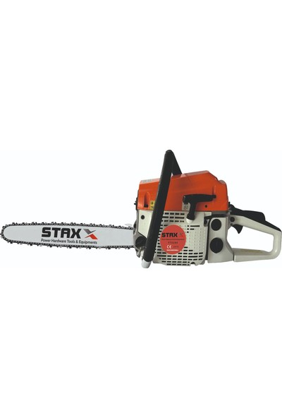 Staxx Power Staxx Tt-58 4.3 Hp Ağaç Motoru 58 cc Benzinli Testere Ağaç Odun Dal Kesme Makinası Zincirli Hızar