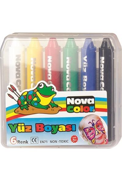 Nova Color Yüz Boyası 6 Renk