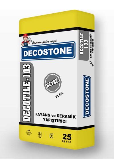 Decostone Fayans Yapıştırıcı Beyaz 1 kg
