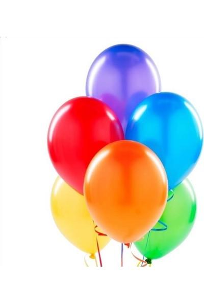 Balonevi Balon Metalik Karışık Renk 100 Adet