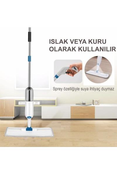 Molto Sprey Mop Yedek Bezli Deterjan Hazneli Paspas Temizlik Siprey Spray Tablet Mop