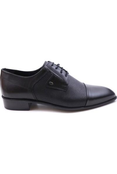 Berenni M 375 Siyah Kauçuk Taban Erkek Klasik Ayakkabısı