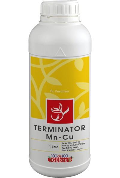 Termınator Mn-Cu Sıvı Mikro Besin Maddeleri Karışımı 1 Lt