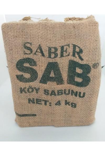 Saber Sab Yeşil Köy Sabunu 4 kg Torba
