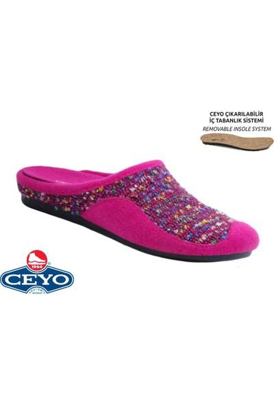 Ceyo Ceyo, 9963-2 (35-41), Anatomik, Kadın Terlik, 2 Renk