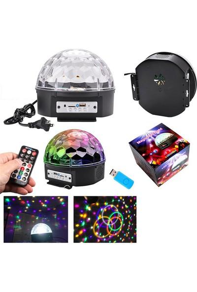 Mobee Kumandalı Disko Topu Bluetooth Müzik Çalar