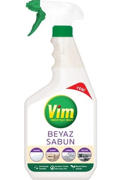 Vim Yüzey Temizleyici Beyaz Sabun Kokulu Sprey 3 x 750 ml