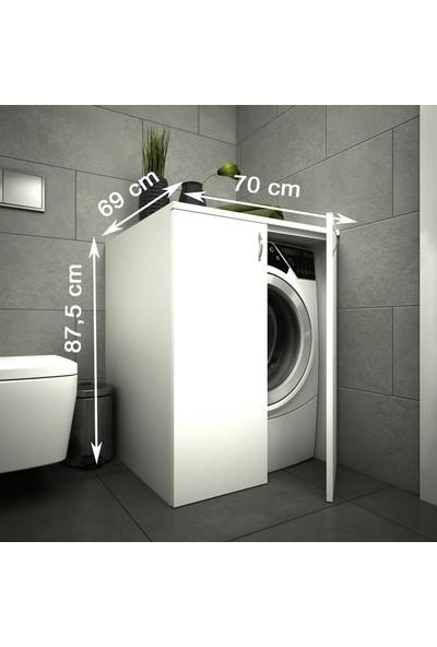 Housepack Erahome Mine Çamaşır Makinesi Alt Dolap Beyaz
