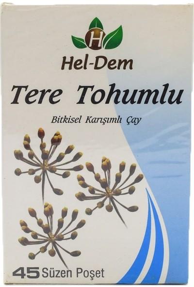 Hel-Dem Tere Tohumlu Bitki Çayı 45'li