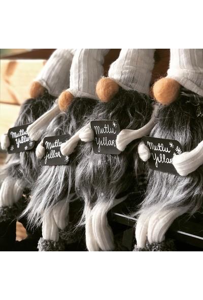 Db Handmade Arts & Crafts Yılbaşı Uğurlu Gnomu / Siyah