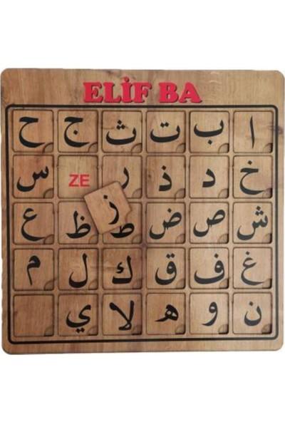 Hamaha Elif Ba Eğitici -Puzzle Seti