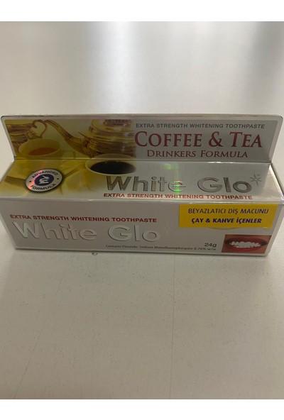 Sanitral Diş Ipi 100 Lü+ White Glo Coffee Tea Beyazlatıcı Diş Macunu (2 Adet Diş Fırçası Ile)