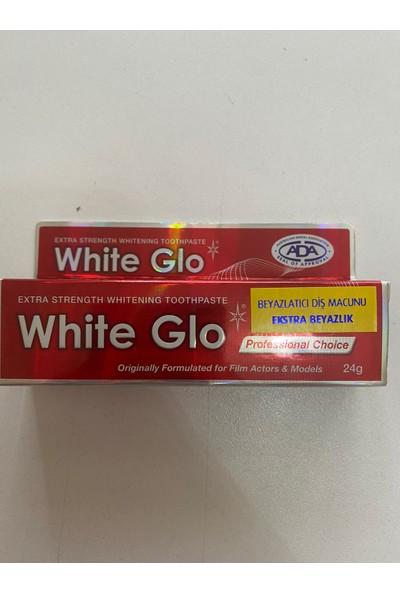 Sanitral Diş Ipi 100 Lü+ White Glo Extra Beyazlatıcı Diş Macunu( 2 Adet Diş Fırçası Hediye)