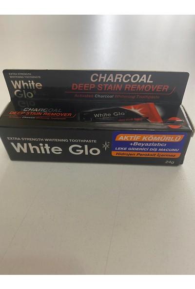 White Glo Aktif Kömür Beyazlatıcı Diş Macunu(2 Adet Diş Fırçası Ile)+Sanitral Çok Amaçlıtüp Sıkacağı