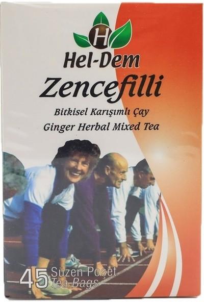 Hel-Dem Zencefilli Çay 45'li