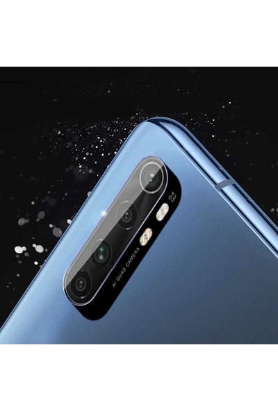Case Street Xiaomi Mi Note 10 Lite Kamera Lens Koruyucu Nano Koruyucu