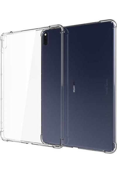 Case Street Huawei Matepad 10.4 Kılıf Silikon Darbe Emici Antishock Renksiz