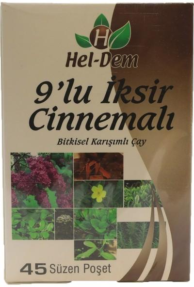 Hel-Dem 9 Lu Iksir Cinnemalı Bitkisel Karışımlı Çay 45'li