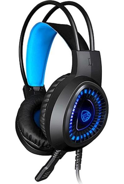 Hytech Hy-G1 Legend Oyuncu Mikrofonlu Kulaklık Mavi
