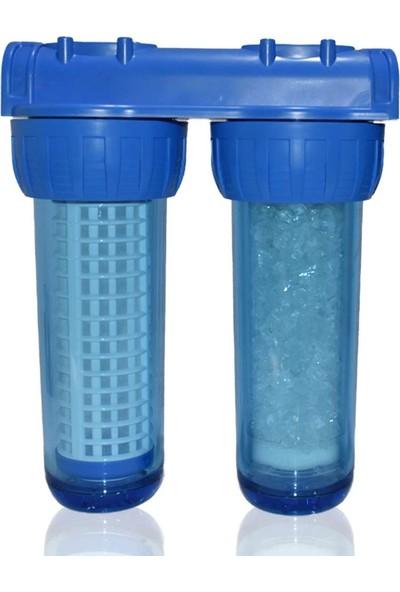 WaterMelon Bina Daire Girişi 2 Aşama Tortu ve Kireç Önleyici Su Arıtma Sistemi