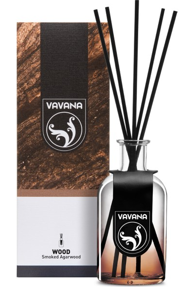 Vavana Çubuklu Oda Ofis Kokusu Parfümü 100 ml Smoked Agarwood