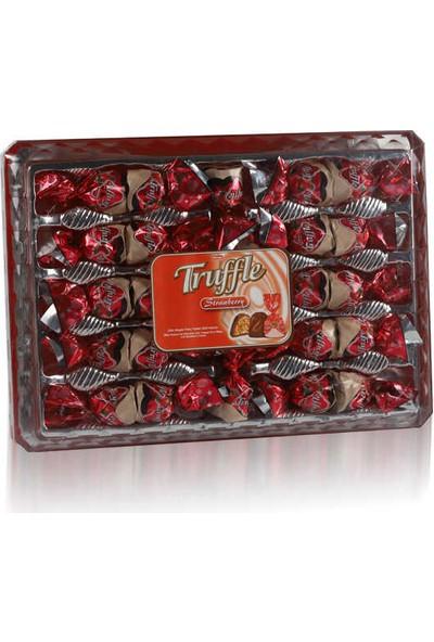 Elvan Truffle Tray Çilekli 350 gr
