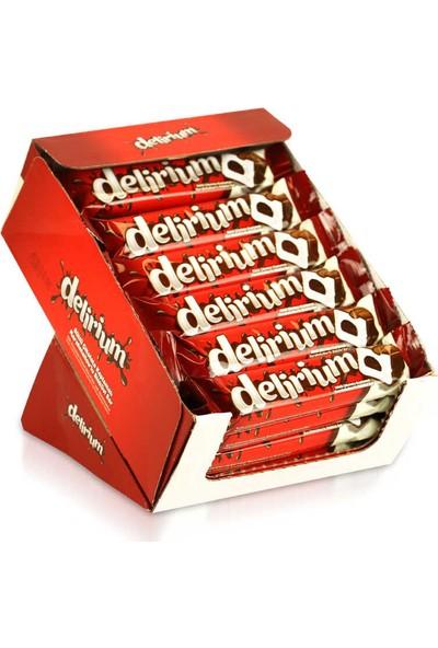 Elvan Delirium Sütlü Çikolatalı Marshmallowlu Bar 28 gr . 24 'lü