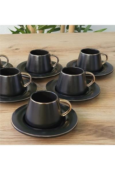 Acarlar MXG-010269 Porselen 6lı Kahve Fincanı