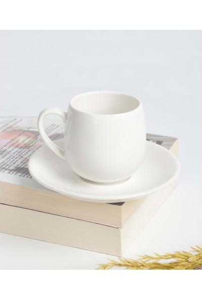 Acarlar PORJ-010131 Porselen 6lı Kahve Fincanı