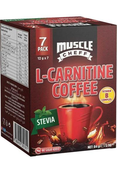 Muscle Cheff L-Carnitine Kahve 12 gr 7 Adet