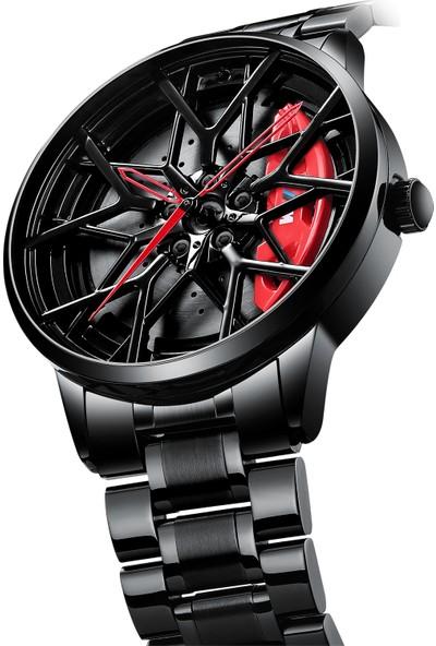 Nibosi Araba Jant Hub Tekerlek Saat Tasarımı 2031
