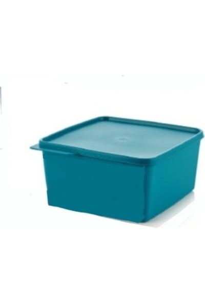 Tupperware Renkli Dikdörtgen Saklama Kabı 2,5 Lt Mavi