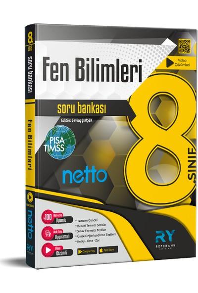 Referans Yayınları Netto LGS 8. Sınıf Fen Bilimleri Soru Bankası Tamamı Video Çözümlü