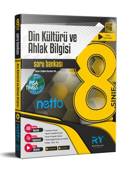 Referans Yayınları Netto LGS 8. Sınıf Din Kültürü ve Ahlak Bilgisi Soru Bankası Tamamı Video Çözümlü