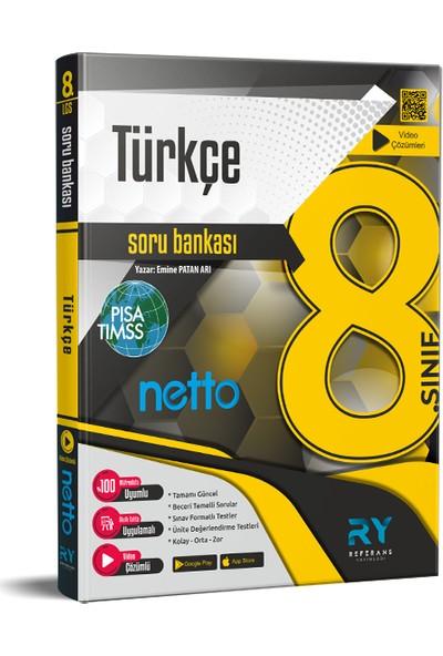 Referans Yayınları Netto LGS 8. Sınıf Türkçe Soru Bankası Tamamı Video Çözümlü
