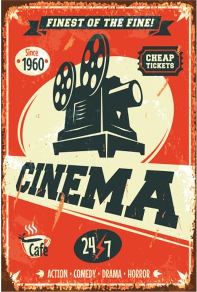 Sese Concept Cinema 20X30 cm Duvar Tablo