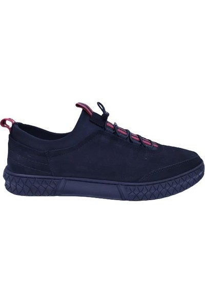 Goes 716 Kauçuk Taban Comfort Deri Outdoor Ayakkabı(Şeritli)