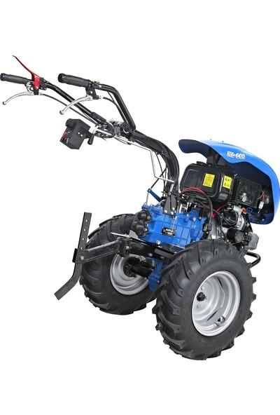 Ayka RZ 510 S Çapa Makinesi Antor AD510BS 12,2 hp Marşlı Motor 3+1 Vites