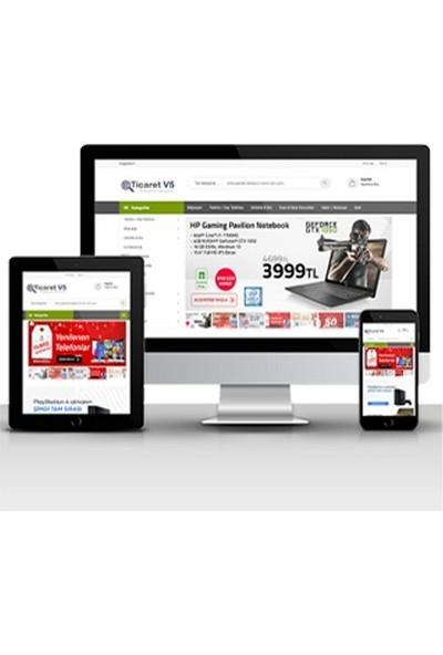 Şehper Platinum E-Ticaret Hazır Site Scripti V5