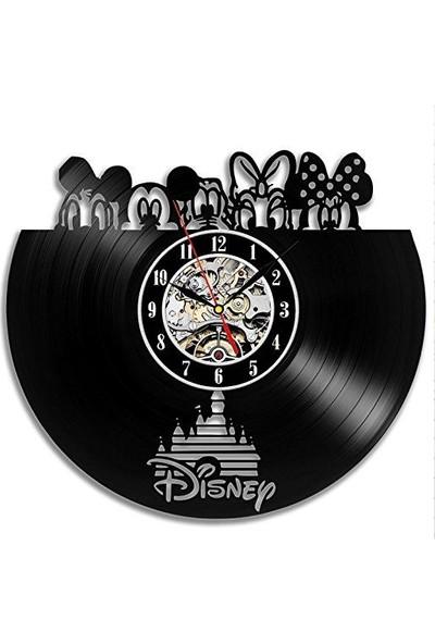 Pleksi Disney Duvar Saati