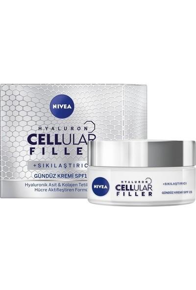 Nivea Cellular Fıller Sıkılaştırıcı Gündüz Bakım Kremi SPF15
