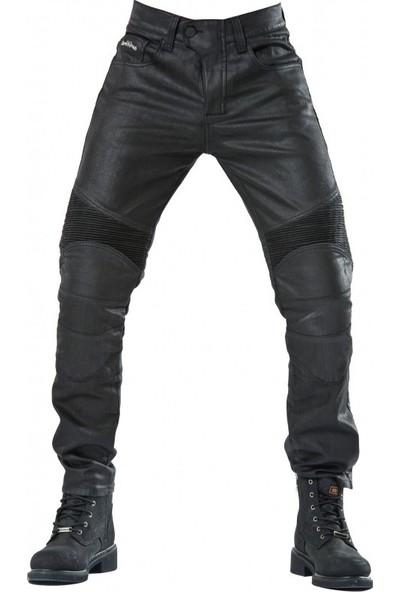 The Biker Jeans Black Iron Flexi V2 Korumalı Motosiklet Kot Pantolonu