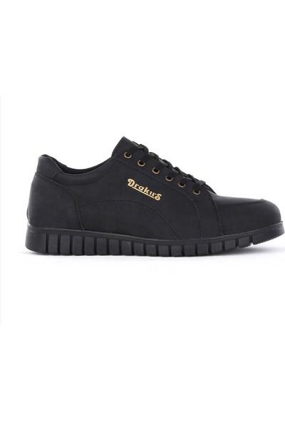 Drakers Drst Dilen Drakırs Siyah Cilt Erkek Günlük Tarz Casul Ayakkabı