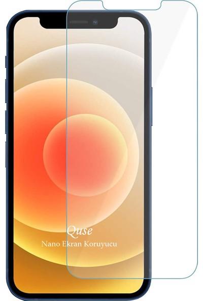 "Quse Apple iPhone 12 Pro Max 6.7"" Nano Ekran Koruyucu Cam"