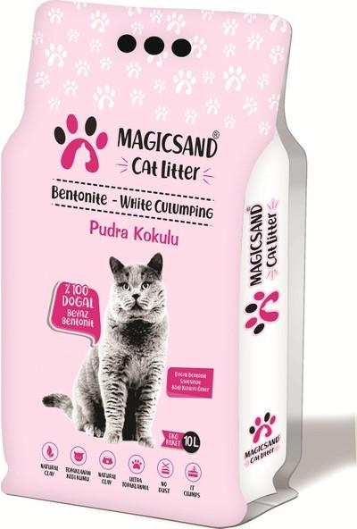 Magicsand Cat Litter Bebe Pudralı Kedi Kumu İnce Taneli 10 lt