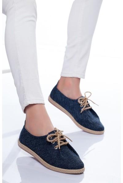 Ayakkabı Frekansı Kikka Spor Ayakkabı Lacivert