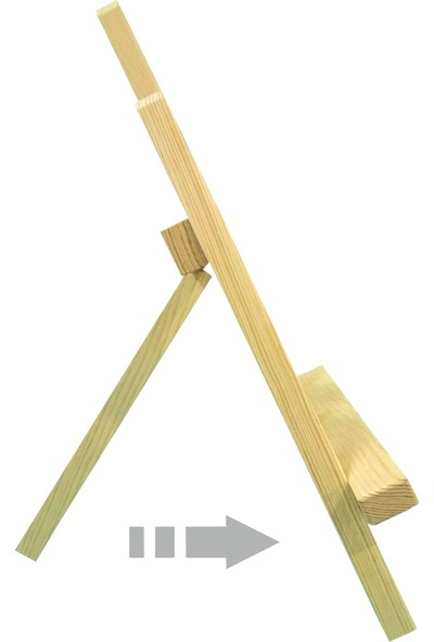 Südor Artless Mini Şövale 28X36 cm