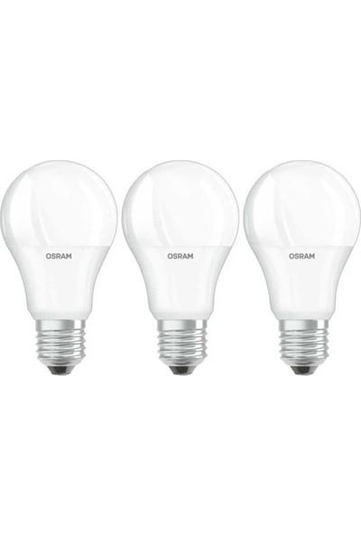 Osram LED Value 10W 1055 Lümen E27 Beyaz Işık Ampul 3 Lü Paket
