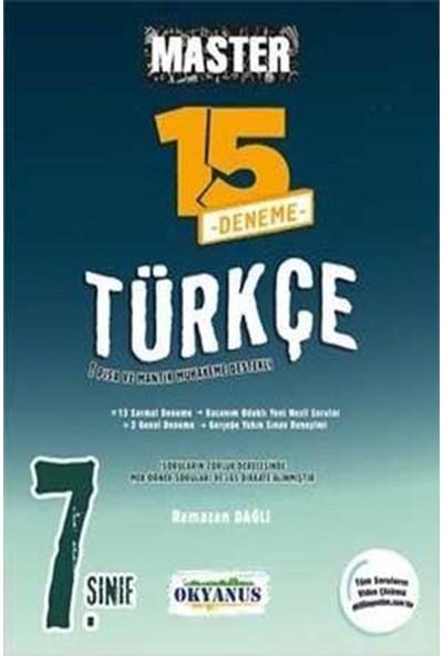 Okyanus 7. Sınıf Türkçe Master 15 Türkçe Deneme